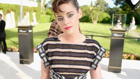 Kristen Stewart Just Wore the Coolest Bobby Pin Hairstyle   StyleCaster