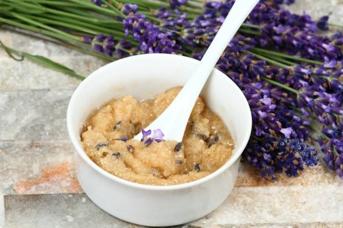 lavender coffee scrub 13 DIY Coffee Scrub Recipes—From Face Masks to Hair Treatments