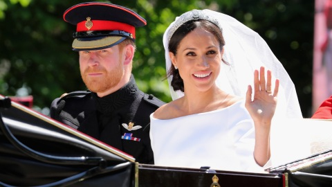 Meghan Markle's Wedding-Day Makeup Didn't Hide Her Freckles | StyleCaster