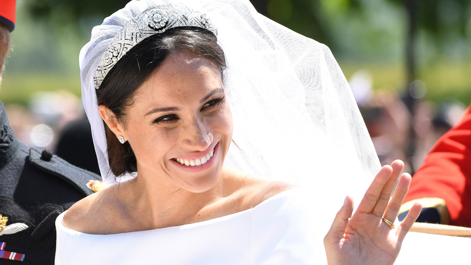 designer says meghan markle s wedding gown copied her design stylecaster https stylecaster com meghan markle designer accused of copying wedding dress design
