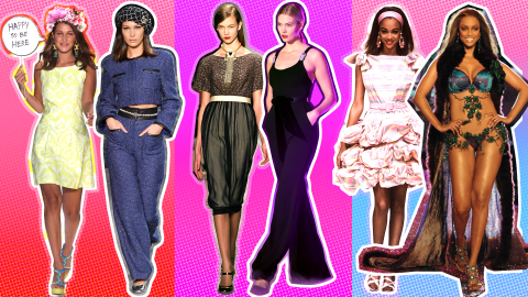 Then and Now: The Runway Evolution of 20 Supermodels | StyleCaster