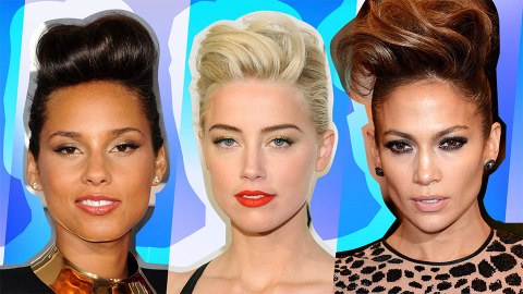 The Best Celebrity Takes on the Classic Pompadour | StyleCaster