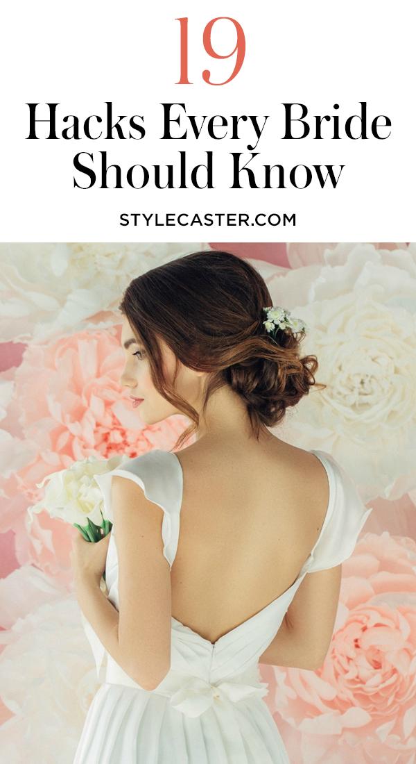 STYLECASTER   Wedding Hacks