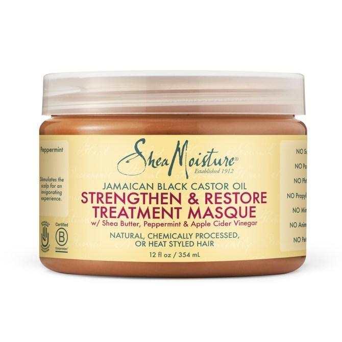 Shea Moisture Jamaican Black Castor Oil Strengthen & Restore Treatment Masque