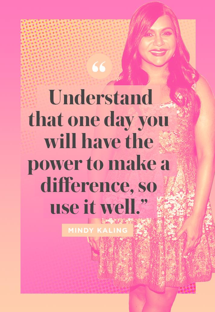 Inspiring Mindy Kaling Quote