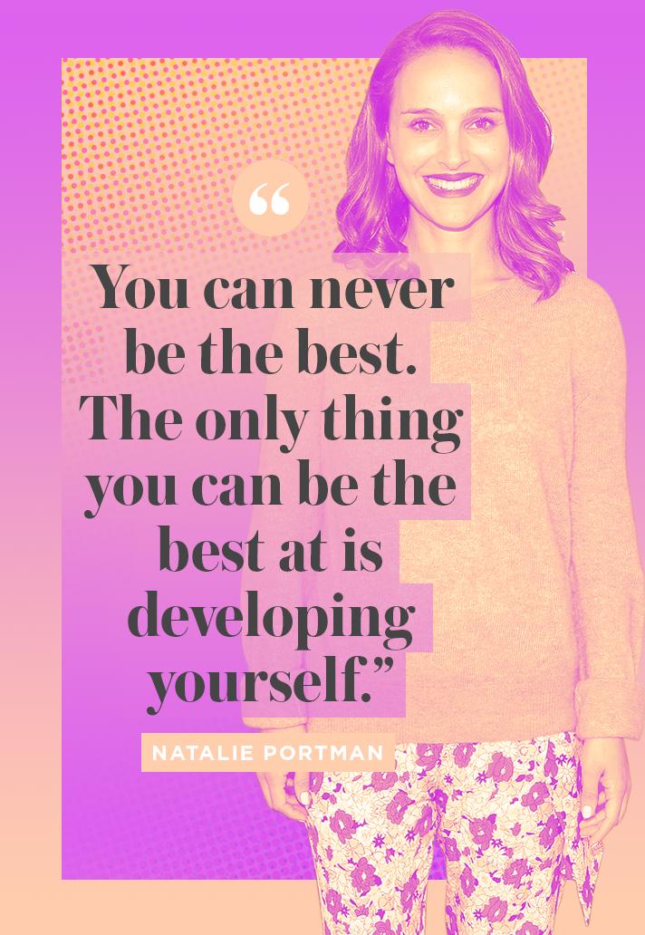 Inspiring Natalie Portman Quote