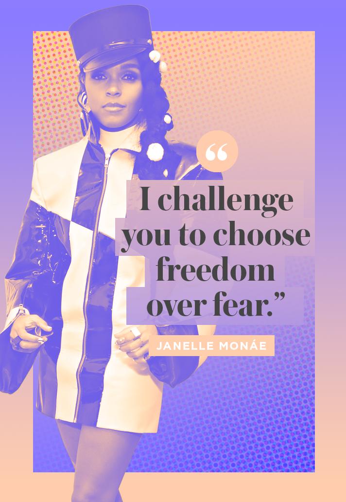 Inspiring Janelle Monae Quote