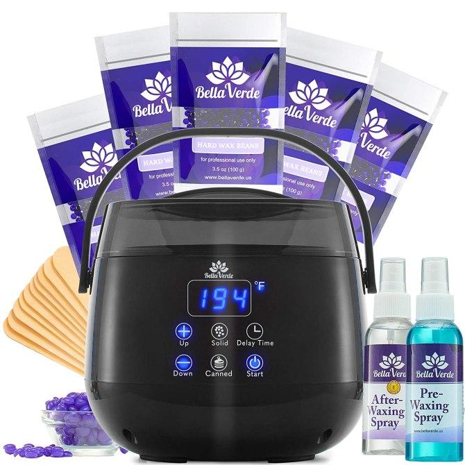 wax warmer home waxing kit