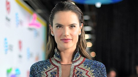 Alessandra Ambrosio's New Bangs Are Major Cool-Girl Inspo   StyleCaster