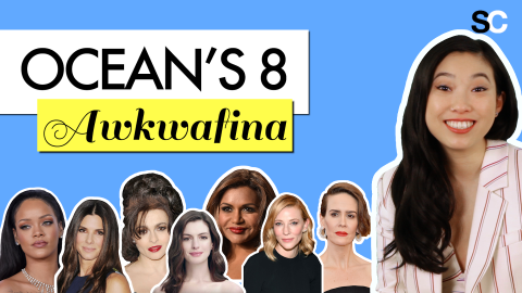 Awkwafina Assigns Superlatives to Her 'Ocean's 8' Costars | StyleCaster