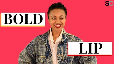 How to Apply a Bold Lip in Under a Minute | StyleCaster