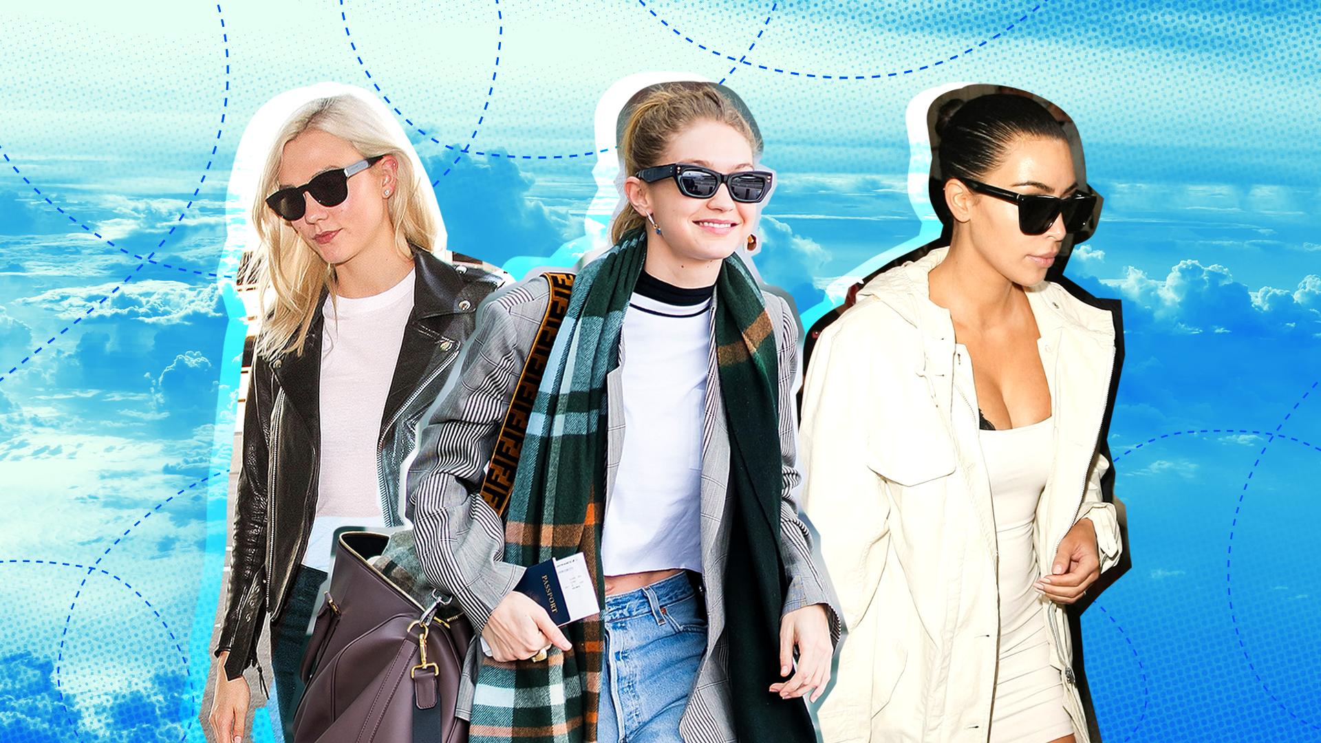 Celebrities travel beauty tips