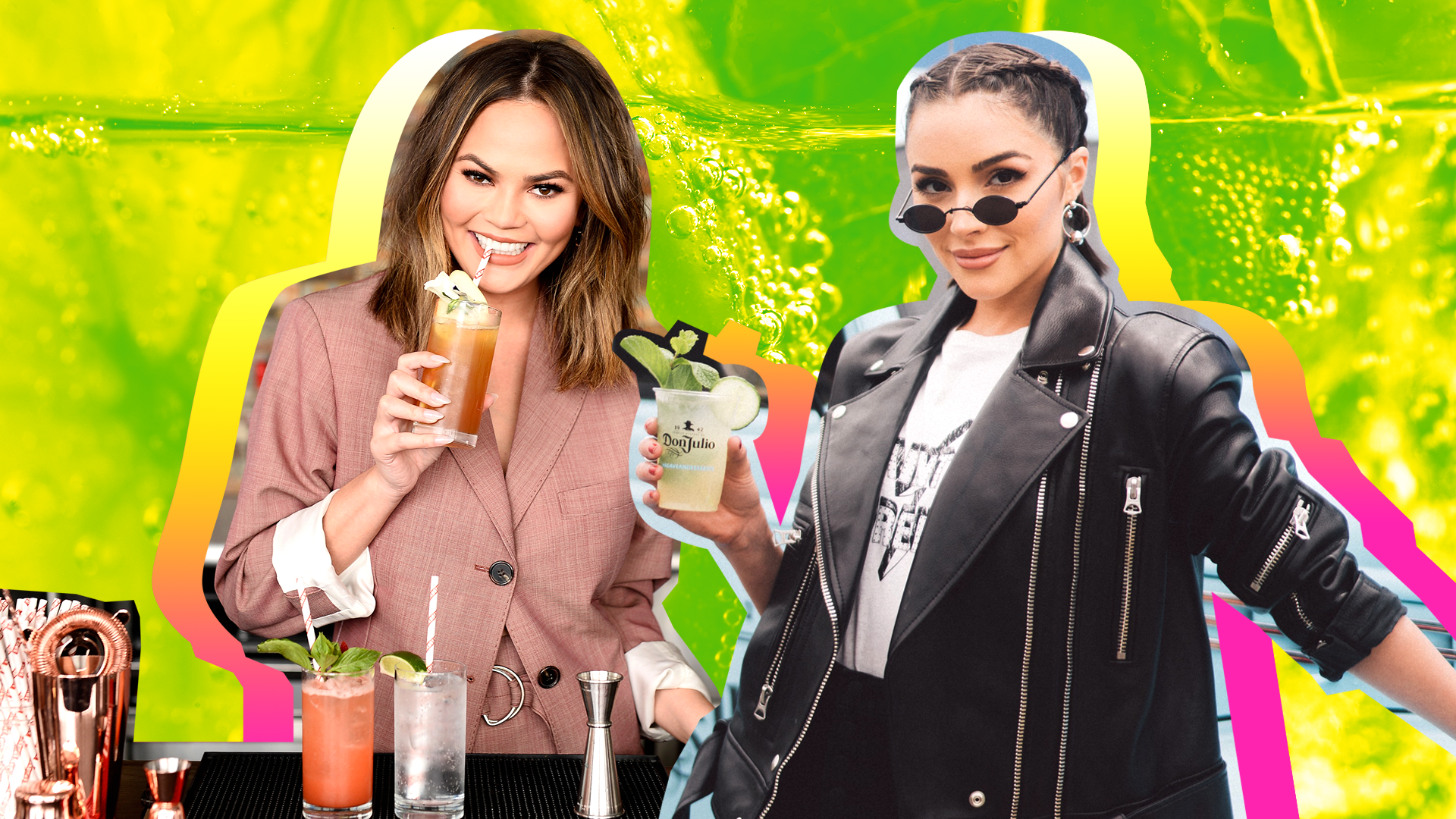 Celebrity Cocktail Recipes