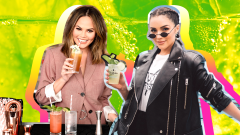 Refreshing Celebrity Cocktail Recipes to Try This Summer | StyleCaster