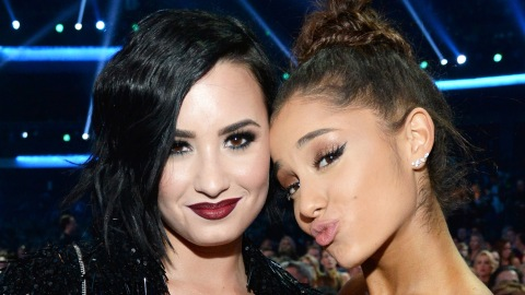 This Look-Alike Is a Perfect Mix of Ariana Grande and Demi Lovato | StyleCaster