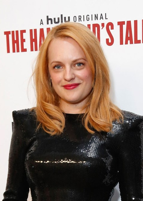 elisabeth moss hair Elisabeth Moss Dyed Her Hair Strawberry Blonde for the Summer