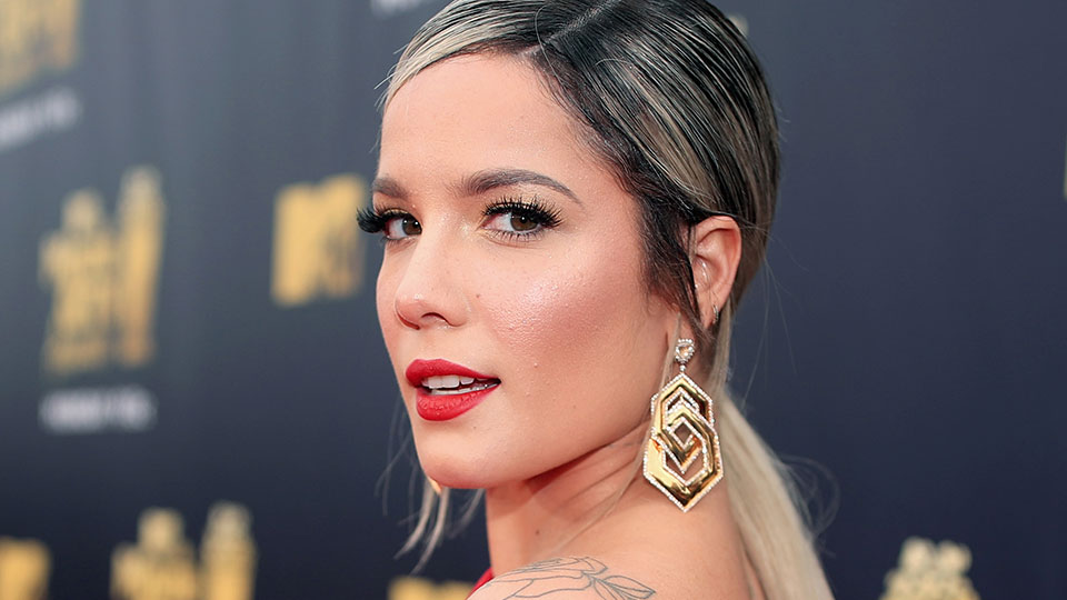 Halsey Got a Face Tattoo, and It's Not What We Expected