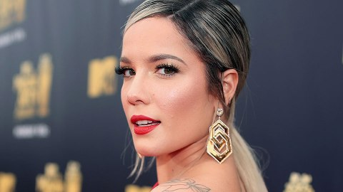 Halsey Just Revealed a Surprisingly Chic Face Tattoo | StyleCaster