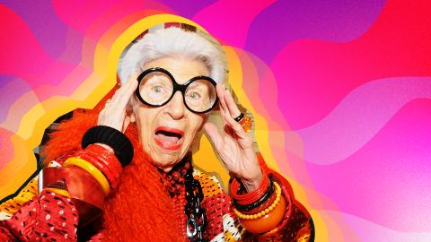 21 Random Questions for Iris Apfel | StyleCaster