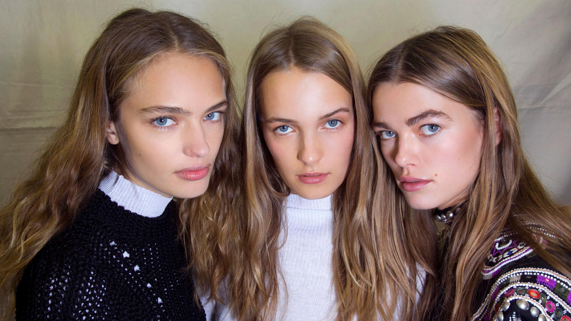 Isabel Marant Models Backstage