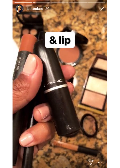 jasmine tookes makeup1 The Drugstore Product Jasmine Tookes Uses to Perfect Her Cat Eye
