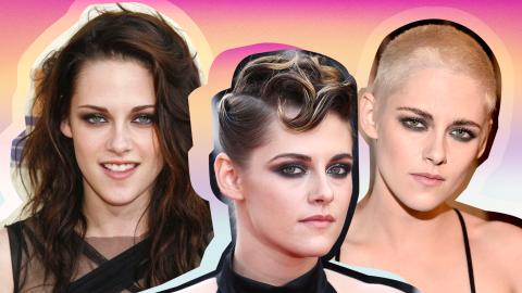 Watch Kristen Stewart's Epic 16-Year Beauty Evolution | StyleCaster