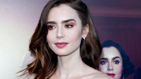 Lily Collins's Freckles Came Out to Play for the Summer | StyleCaster