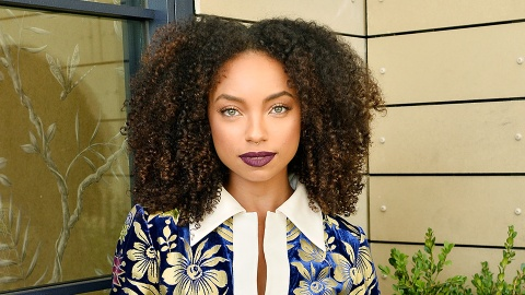 The Exact Products Logan Browning Uses to Perfect Her Curls | StyleCaster