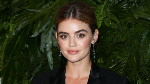 Lucy Hale Mixed Two Hot Trends In the Most Unexpected Way at the CW Upfronts | StyleCaster