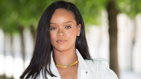 Rihanna's Next Fenty Beauty Product Might Be White Eyeliner | StyleCaster