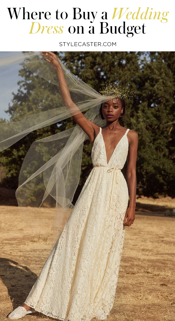 STYLECASTER | The 13 Best Places to Buy Wedding Dresses on the Cheap
