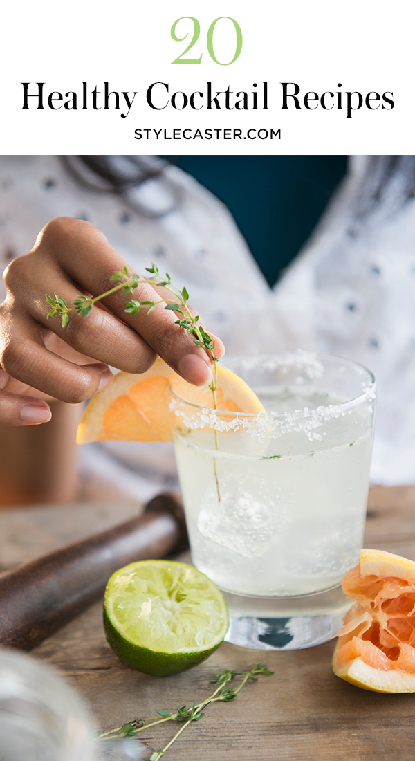 sc healthy drinks 20 Healthy Alcoholic Drinks to Sip This Summer