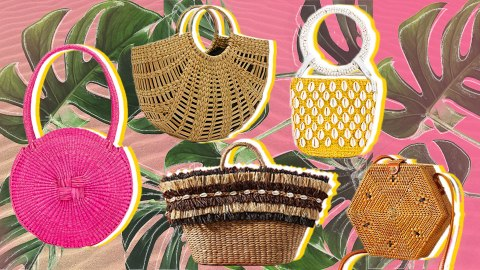 Every Single Straw Bag Worth Shopping This Season | StyleCaster
