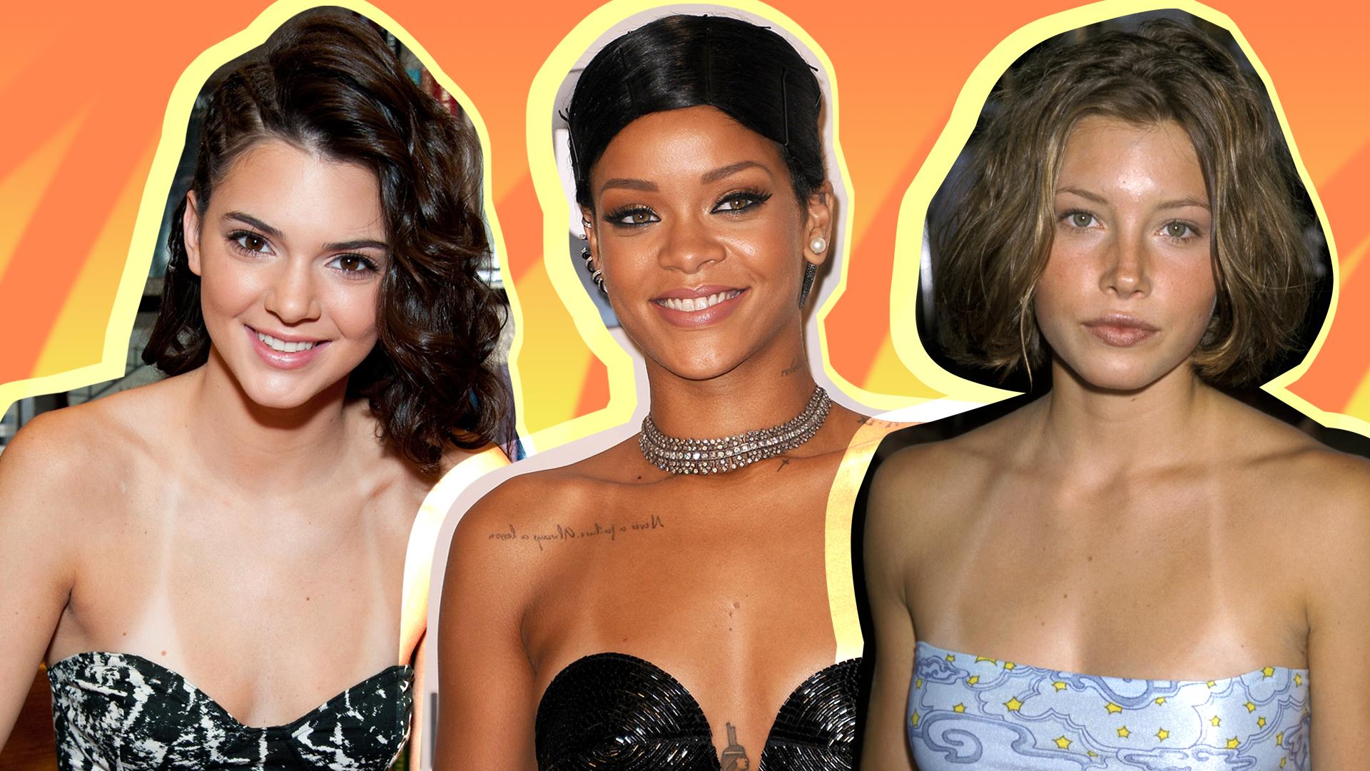 Celebrity Tan Lines