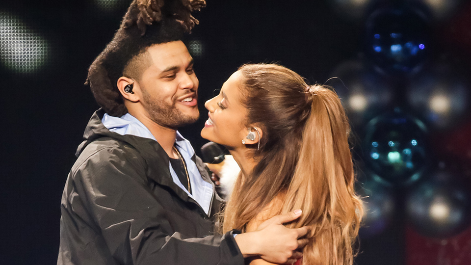The Weeknd Shades Ariana Grande and Pete Davidson | StyleCaster