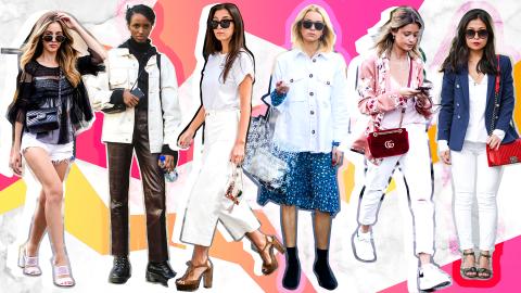 The Trendiest White Denim Pieces to Shop This Season | StyleCaster