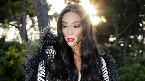 Winnie Harlow Shared the Most Stunning Makeup-Free Selfies   StyleCaster