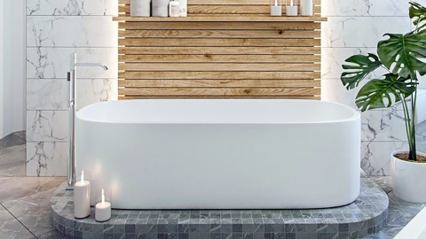 Literally Just 21 Photos of the Dreamiest Spa Bathrooms We've Ever Seen | StyleCaster