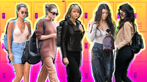 How to Style Your Backpack Like a Celebrity: A Photo Essay | StyleCaster