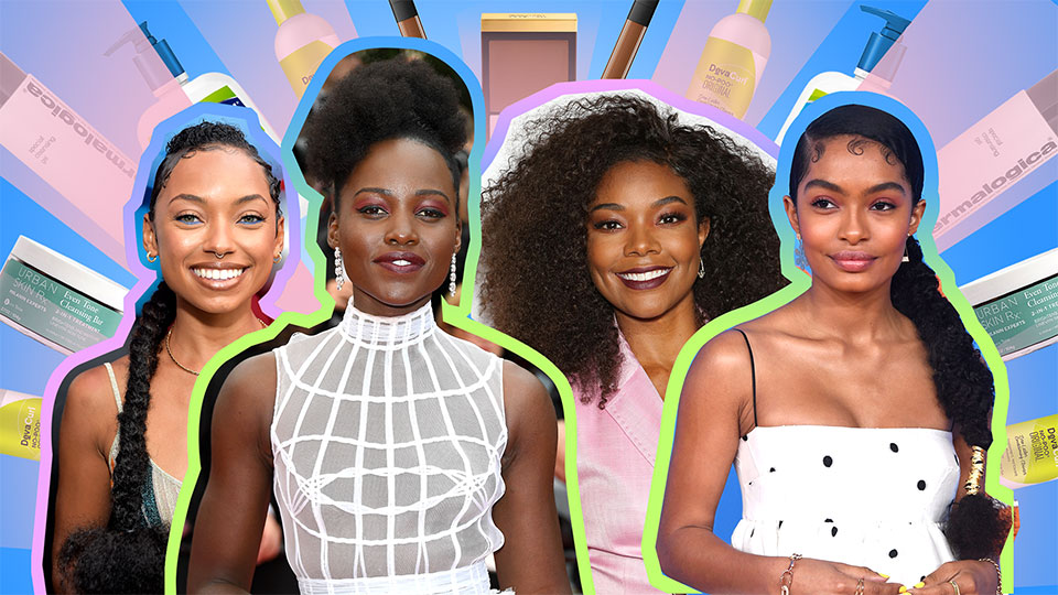 The Hair, Skin and Makeup Products Black Celebrities Love