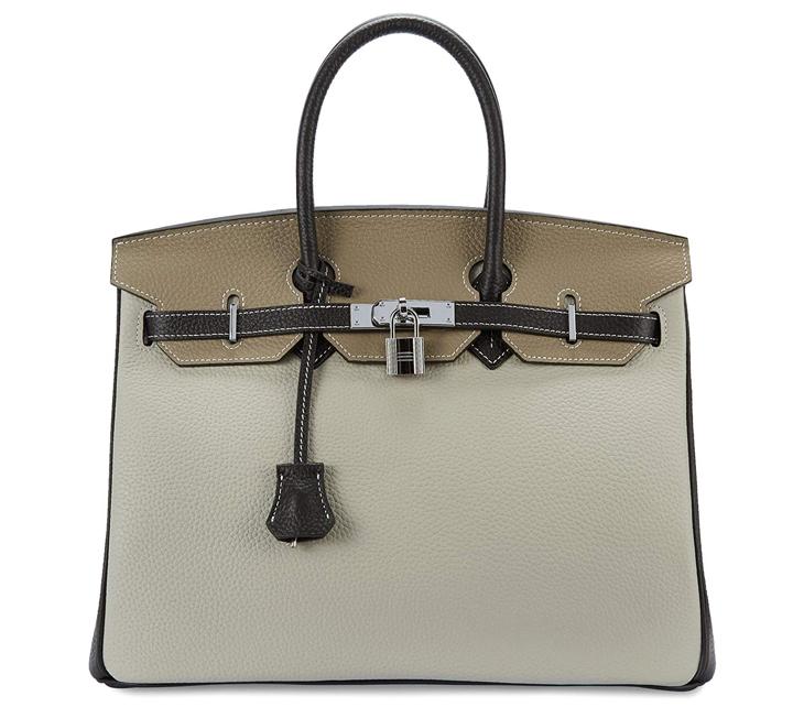 cherish kiss womens padlock handbag genuine leather top handle bag with silver hardware 5 Birkin Alternatives You Can Actually Afford to Shop