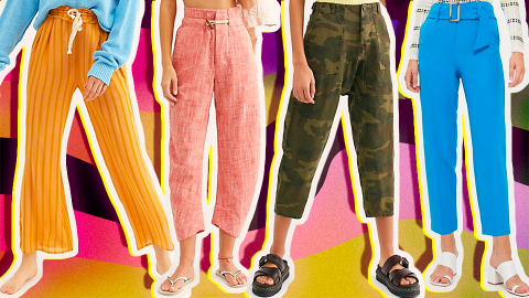 Summer Pants Are the Secret to a Well-Rounded Warm-Weather Wardrobe | StyleCaster