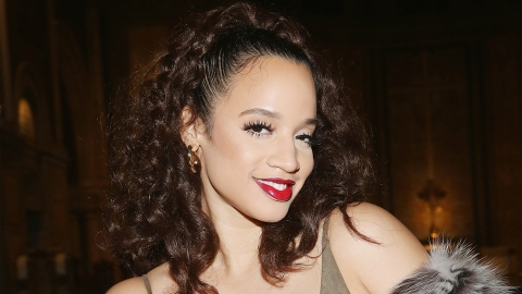 Dascha Polanco Masterfully Matches Makeup and Power Suit   StyleCaster