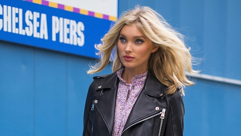 Somehow, Elsa Hosk's Outfit Has Us Daydreaming About Cooler Weather | StyleCaster