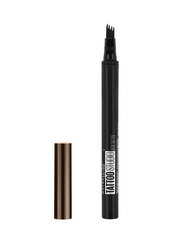 STYLECASTER | New Eyebrow Products 2018 | Maybelline Tattoo Studio Brow Tint Pen