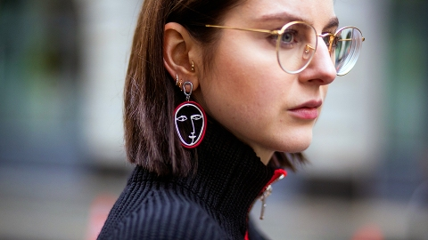 Everyone Is Wearing Face Earrings Right Now and We Don't Hate It | StyleCaster