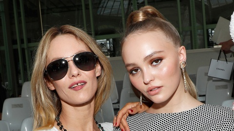 Lily-Rose Depp Conquers Couture Week in a Sleek Ponytail | StyleCaster
