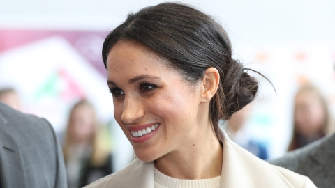 The Royal Reason Meghan Markle Always Wears Her Hair in a Low Bun | StyleCaster