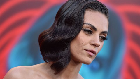 Mila Kunis Makes a Strong Case for Green Shadow on Hazel Eyes | StyleCaster