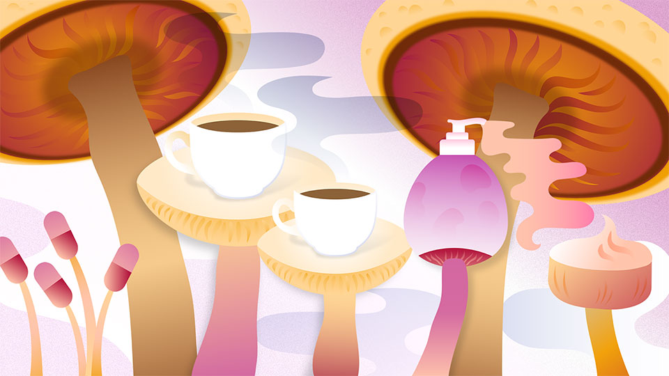 The Beauty and Wellness Benefits of Mushrooms